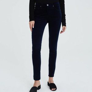 Ag Adriano Goldschmied Jeans - AG Adriano Goldschmied Prima Navy Corduroy Pants